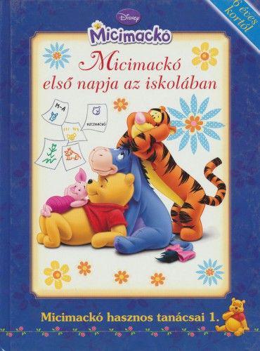 Micimackó-Micimackó első napja az iskolában ANTIKVÁR