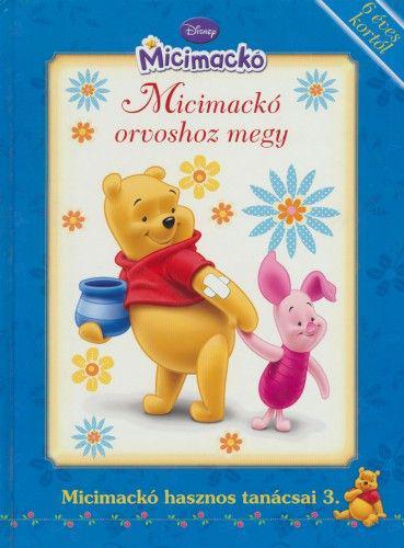 Micimackó-Micimackó orvoshoz megy ANTIKVÁR