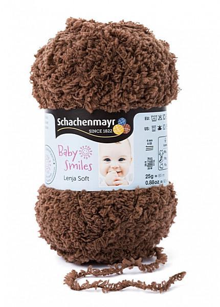Baby Smiles Lenja Soft 25gr. fonal színkód: 1011 Barna