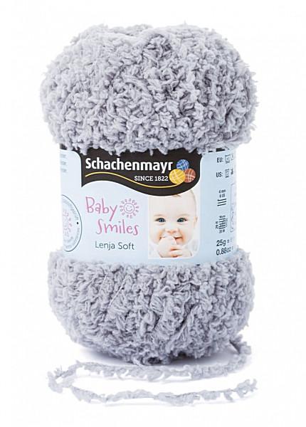 Baby Smiles Lenja Soft 25gr. fonal színkód: 1090 Szürke