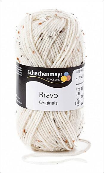 Bravo 5dkg fonal  színkód: 0002 Natur