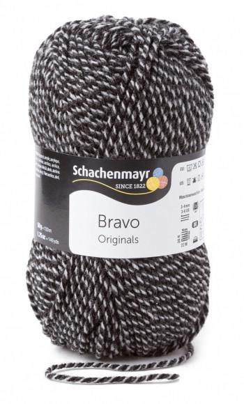 Bravo 5dkg fonal  színkód: 8181 sodrott grafit