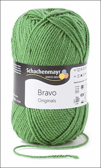 Bravo 5dkg fonal  színkód: 8191 Páfrány zöld