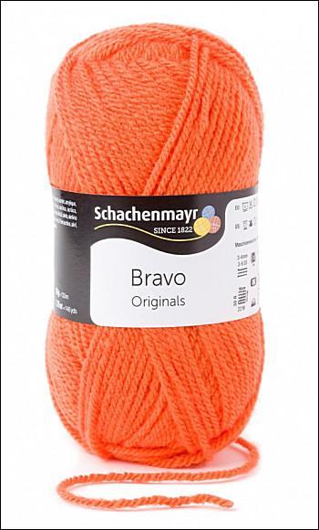 Bravo 5dkg fonal  színkód: 8192 Tök narancs