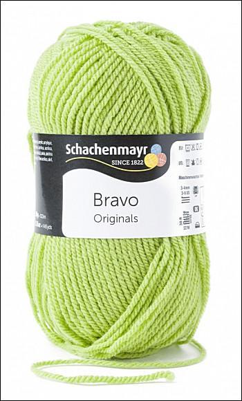 Bravo 5dkg fonal  színkód: 8194 Limone zöld