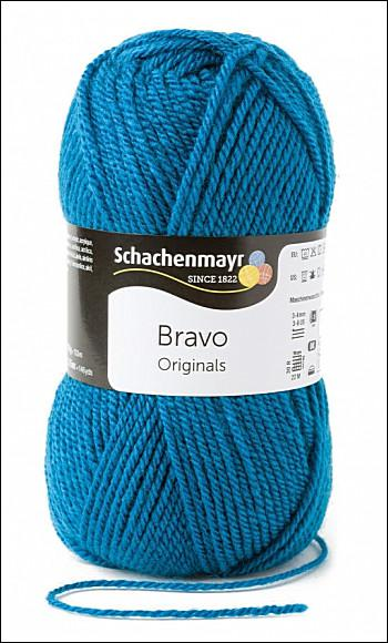 Bravo 5dkg fonal  színkód: 8195 petrol kék