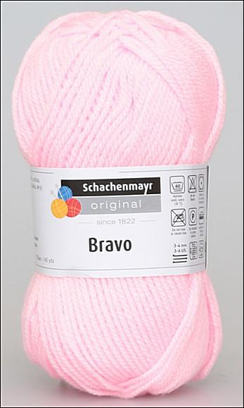 Bravo 5dkg fonal  színkód: 8206 Rózsaszín