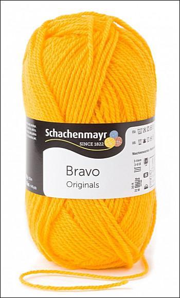 Bravo 5dkg fonal  színkód: 8210 Napsárga