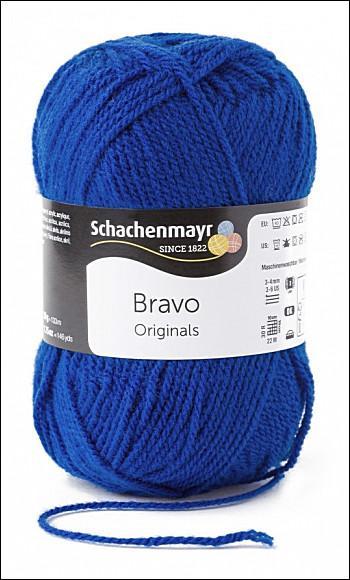Bravo 5dkg fonal  színkód: 8211 Királykék