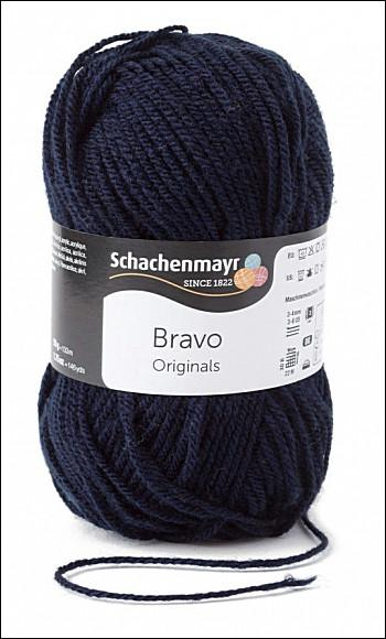 Bravo 5dkg fonal  színkód: 8223 sötétkék