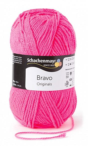 Bravo 5dkg fonal  színkód: 8234 Neon pink