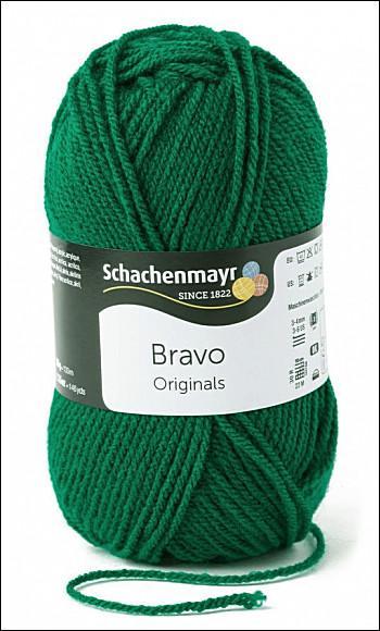 Bravo 5dkg fonal  színkód: 8246 sötétzöld