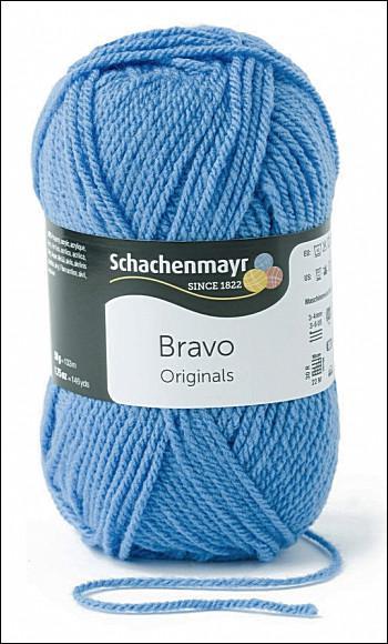 Bravo 5dkg fonal  színkód: 8259 Iris kék