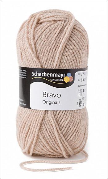 Bravo 5dkg fonal  színkód: 8267 világos drapp