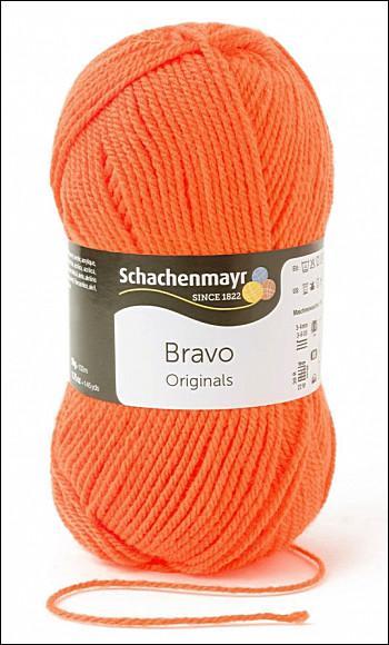 Bravo 5dkg fonal  színkód: 8279 Neon narancs