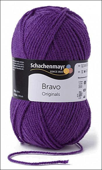 Bravo 5dkg fonal  színkód: 8303 Viola