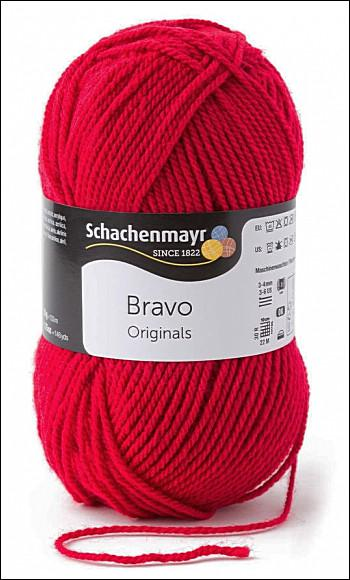 Bravo 5dkg fonal  színkód: 8309 Cherry