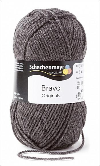 Bravo 5dkg fonal  színkód: 8319 középszürke