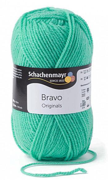 Bravo 5dkg fonal  színkód: 8321 Smaragd zöld