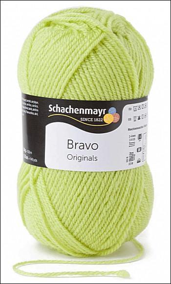Bravo 5dkg fonal  színkód: 8325 Anis zöld