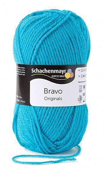 Bravo 5dkg fonal  színkód: 8328 Atlantis kék