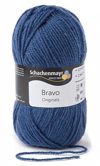 Bravo 5dkg fonal  színkód: 8340 Kobalt kék