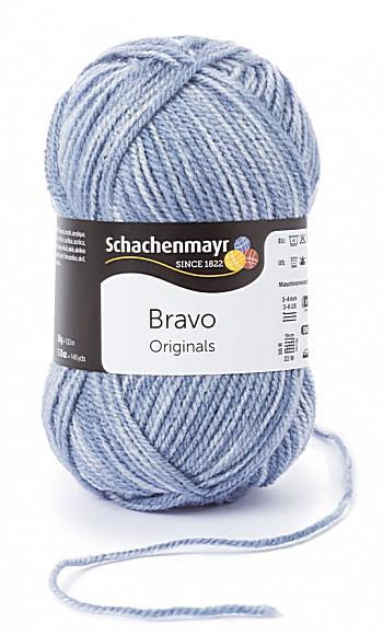Bravo 5dkg fonal  színkód: 8353 világos farmer