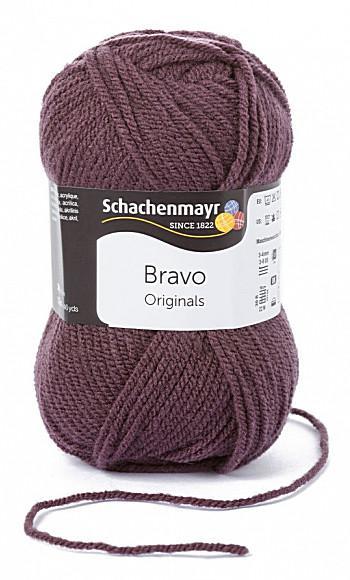 Bravo 5dkg fonal  színkód: 8357 Szilva