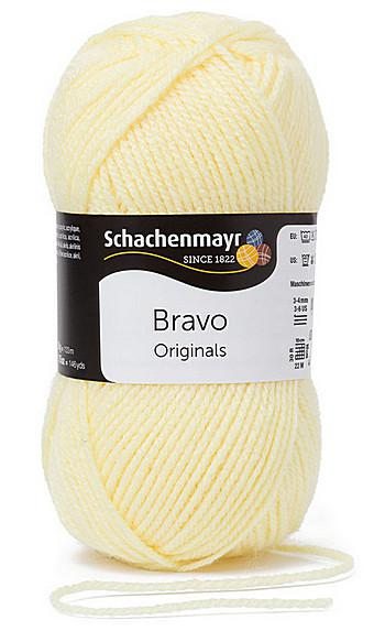 Bravo 5dkg fonal  színkód: 8361 Lemon