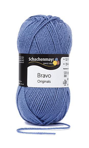 Bravo 5dkg fonal  színkód: 8362 Airforce kék