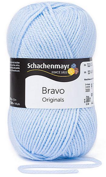 Bravo 5dkg fonal  színkód: 8363 Gleccser kék