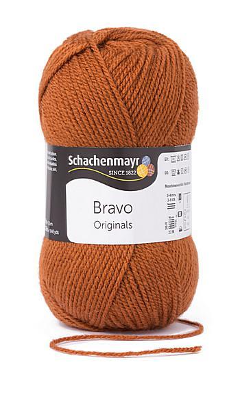 Bravo 5dkg fonal  színkód: 8371 Róka