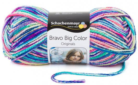 Bravo Big - Big Color 20dkg fonal színkód: 128