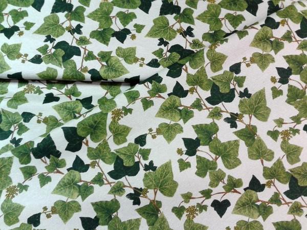 Bútorvászon borostyánzöld 140 cm széles
