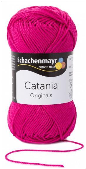 Catania pamut fonal 5dkg  színkód: 0114 ciklámen
