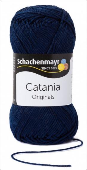 Catania pamut fonal 5dkg  színkód: 0124 Marine kék