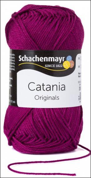 Catania pamut fonal 5dkg  színkód: 0128 Fuchsia