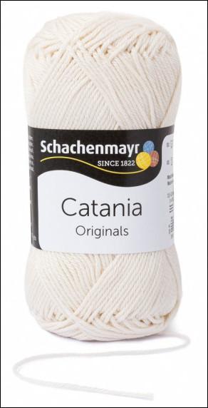 Catania pamut fonal 5dkg  színkód: 0130 Creme