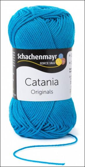 Catania pamut fonal 5dkg  színkód: 0146 Pfau kék