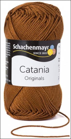 Catania pamut fonal 5dkg  színkód: 0157 Marone