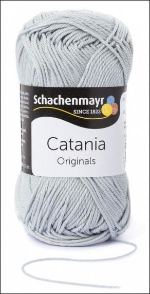 Catania pamut fonal 5dkg  színkód: 0172 Silber