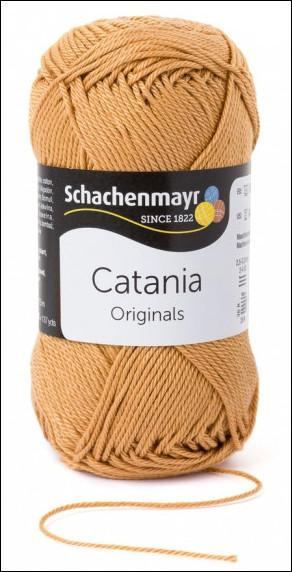 Catania pamut fonal 5dkg  színkód: 0179 Camel