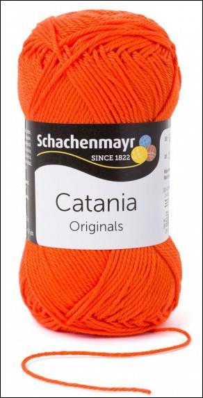 Catania pamut fonal 5dkg  színkód: 0189 Jaffa