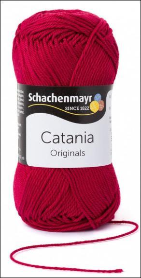 Catania pamut fonal 5dkg  színkód: 0192 Weinrot