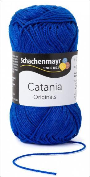Catania pamut fonal 5dkg  színkód: 0201 Royal kék