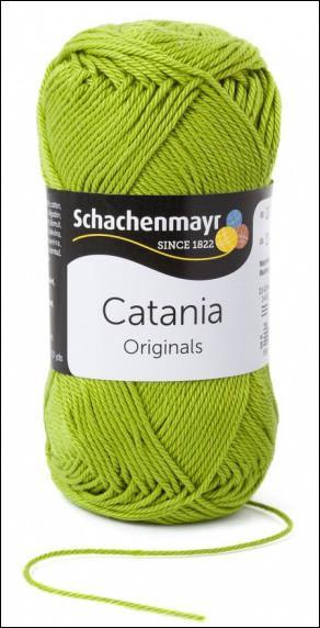 Catania pamut fonal 5dkg  színkód: 0205 Apfel zöld