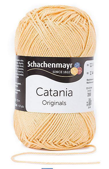 Catania pamut fonal 5dkg  színkód: 0206 Méz
