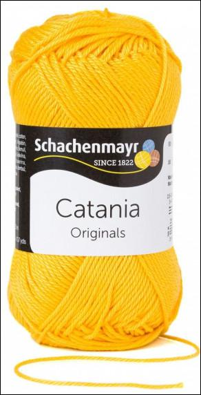 Catania pamut fonal 5dkg  színkód: 0208 Sonne