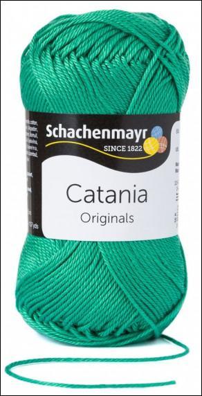 Catania pamut fonal 5dkg  színkód: 0241 Golf zöld