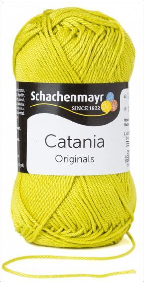 Catania pamut fonal 5dkg  színkód: 0245 Anis zöld